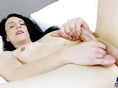 Vivian Grey Jacks Her Big Cock