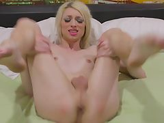 Beautiful Holly Parker Jacks Off!